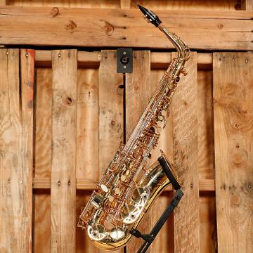 Custom Buffet Crampon Student Alto Saxophone Outift *Rental Inventory Closeout* 2010's Brass Lacquer