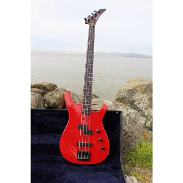 Custom Larrivée LB-2 Bass Guitar 1988 Ferrari Red