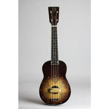 Custom National  Triolian Resonator Ukulele (1931), ser. #610, NO CASE case.