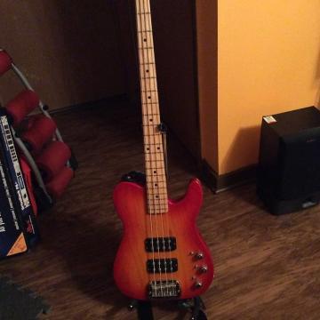 Custom G&L Asat 4 String Bass 2006 Cherryburst