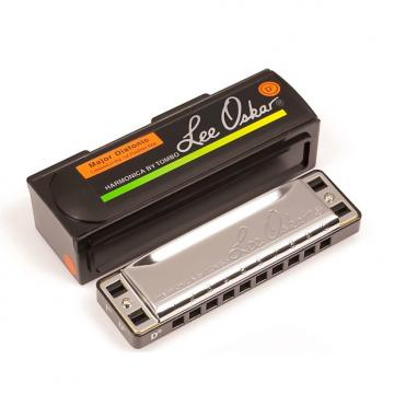 Custom Genuine New Lee Oskar 1910 Major Diatonic Harmonica or Harp. Key of D Flat