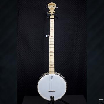 Custom Good Time Openback 5 String Banjo Maple/ White
