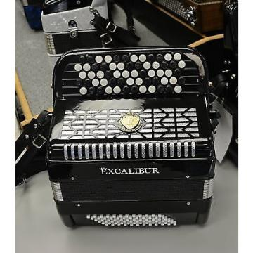 Custom Excalibur Leipzig 72 Bass Chromatic Button Accordion B or C System 2016 Black