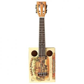 Custom Eddy Finn EF-CGBX-1 Cigar Box Ukulele with Gig Bag
