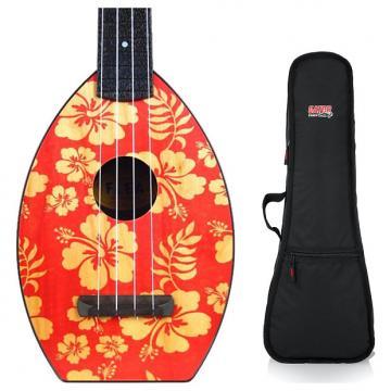 Custom Magic Ukuleles Flea Designer Aloha Concert Ukulele Bundle