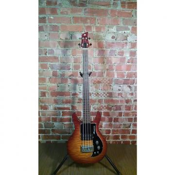Custom Ampeg Dan Armstrong AMB1 Short Scale Bass 1999 Quilted Maple Sunburst