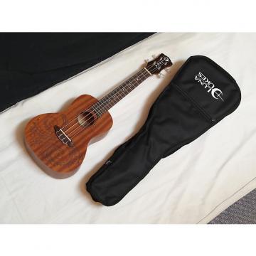 Custom LUNA Tattoo Concert Mahogany acoustic UKULELE uke NEW w/ Gig Bag - B-stock