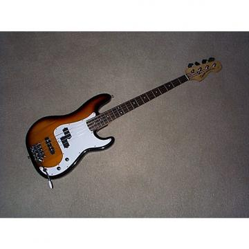 Custom Fender Precision Sunburst with a tremolo
