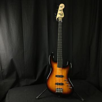 Custom Squier Deluxe Jazz Bass IV Active - Manufacturer Refurbished