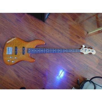 Custom Fender Deluxe Jazz Bass 24 Fret 2000s Cherry Sunburst