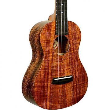 Custom Kala 3KOA-TG Elite Tenor UV Gloss Ukuele Bundle