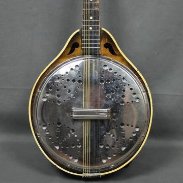 Custom VINTAGE 1930's Valco Melofonic Resonator Mandolin - FREE SHIP