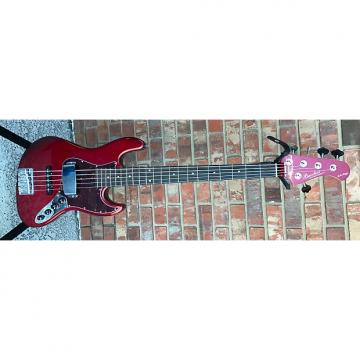 Custom Bacchus woodline 5 string Candy Apple Red