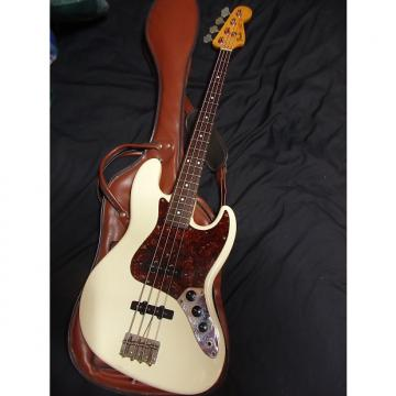 Custom Rare Vintage Fender Japan JV JB62 Jazz Bass Vintage White w/gigbag 1982-83