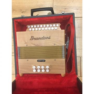 Custom Melodeon D/G Brandoni Jupiter 19 Soft Maple