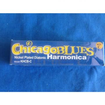 Custom Chicago Blues KHCB-C Harmonica, Key of C