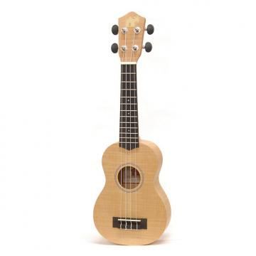 Custom Little Grass Shack Quilt Maple Soprano Ukulele