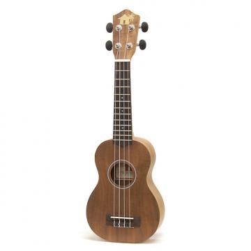 Custom Little Grass Shack Koa Soprano Ukulele
