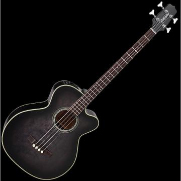 Custom Takamine PB5 SBL Pro Series Acoustic Guitar in See Thru Black
