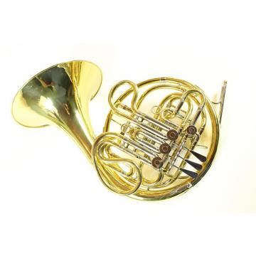 Custom Reynolds Contempora Double French Horn Yellow Brass Kruspe Wrap NICE