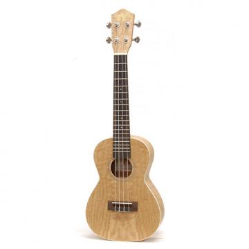 Custom Little Grass Shack Purple Willow Concert Ukulele