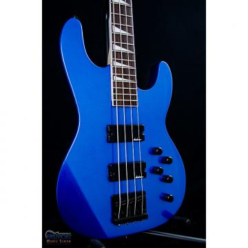 Custom Jackson JS3 Concert Bass in Metallic Blue