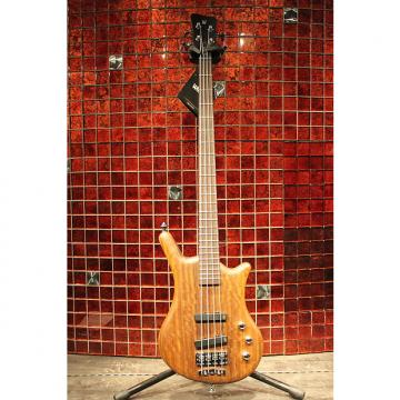 Custom Warwick Pro Serie Thumb Bolt-On 4-string Active  J/J Natural Transparent Satin