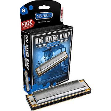 Custom Hohner Ms-Series Big River Harp Key A