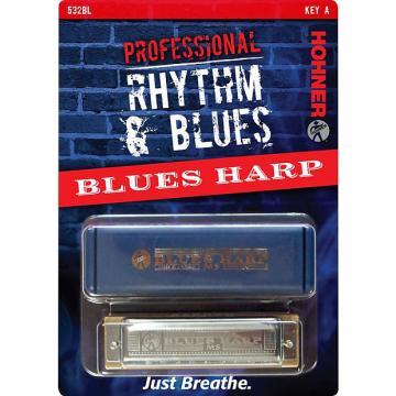 Custom Horner 532BL Professional Rhythm & Blues Harmonica Key of C#