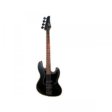 "Custom Full Size 4 String 46"" Jazz J Electric Bass Guitar and Amplifier Pack with Free Gig Bag and Accessor"