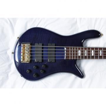 Custom Spector Euro5LX Trans Blue