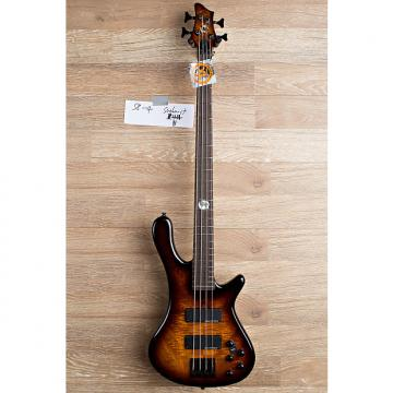 Custom 2017 Wolf S8 4 String Active Passive Jazz Bass Sunburst [7 out of 8]
