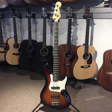 Custom Fender American Jazz Deluxe Sunburst 1991 with Hardcase (Pre-Owned)