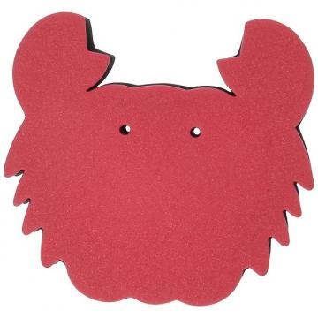 Custom OttoMusica SR-11-RC Magic Pad for Violin and Viola, Red Crab Shape