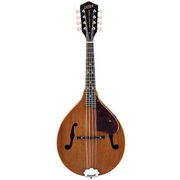 Custom Gretsch G9310 New Yorker Supreme A-Style Mandolin - Vintage Mahogany Stain