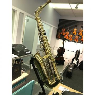 Custom Selmer AS300 alto sax clear lacquer finish
