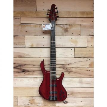 Custom Kinal M68 Custom Jazz 5 Burgundy Red