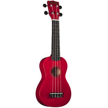 Custom Hamano U-30RD Soprano Ukulele with Bag - Red