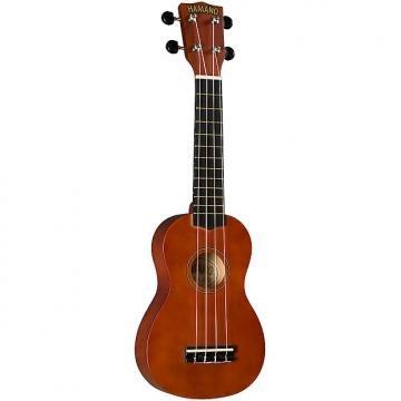 Custom Hamano U-30BR Soprano Ukulele with Bag - Brown