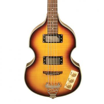 Custom New! Johnson JJ-200 Viola Beatle Violin Electric Bass Guitar - Vintage Sunburst