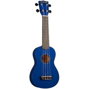 Custom Hamano U-30BU Soprano Ukulele with Bag - Blue