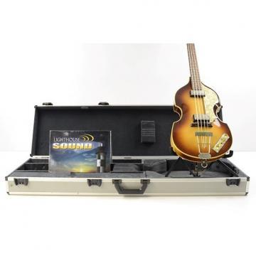 Custom Hofner 500/1 Vintage '62 Electric Violin Bass - Sunburst w/OHSC