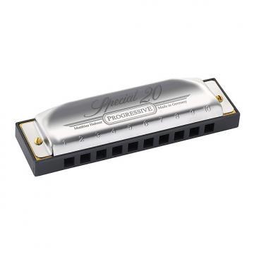 Custom Hohner 560PBXE Progressive Special 10 Classic Harmonica in Key of E