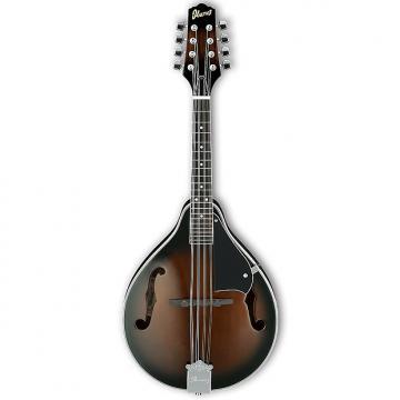 Custom Ibanez M510 A-style Mandolin - Dark Violin Sunburst High Gloss