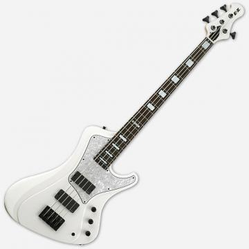 Custom ESP E-II Stream SW Snow White Electric Bass Guitar