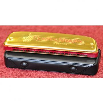 Custom Hohner Diatonic Tremolo Harmonica Golden Melody 2416/40 G / Sol M241608 - Free World Shipping!