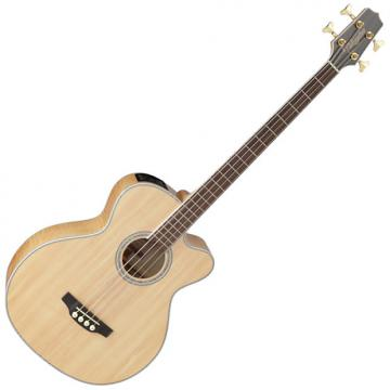Custom Takamine GB72CE-NAT G-Series Acoustic Electric Bass in Natural Finish