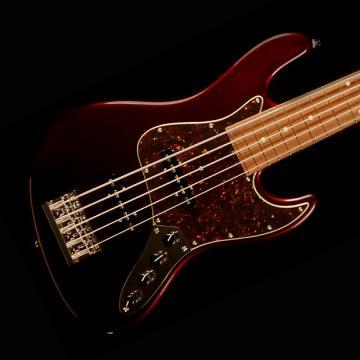 Custom Sadowsky Metro Series RV5 Bass Guitar - Dark Cherry Metallic - Sadowsky RV5 Dark Cherry Metallic