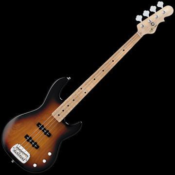 Custom G&L Tribute JB-2 Bass Guitar in 3-Tone Sunburst Finish