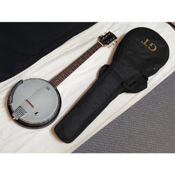 Custom GOLD TONE AC-6+ ELECTRIC 6-string Composite Resonator BANJITAR banjo GUITAR wBAG